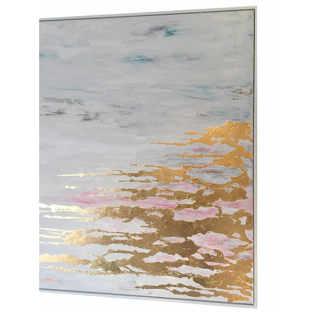 Metallic Commissioned Original Abstract Painting - Image 6 of 8