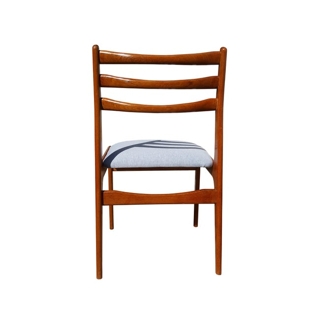 Danish Mid-Century Modern Teak Wood Dining Chair - A Pair - Image 6 of 8