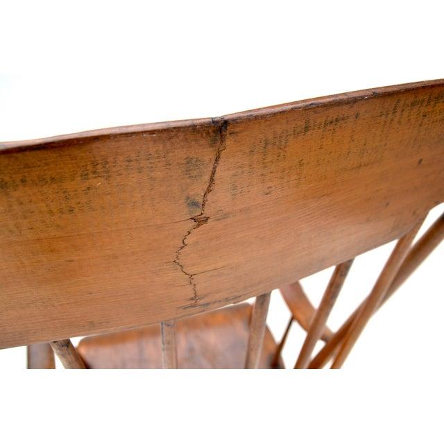 Antique Primitive Boston Rocking Chair C.1840s For Sale - Image 10 of 11