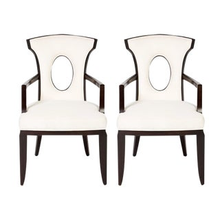 Barbara Barry for Henredon Armchairs - A Pair For Sale