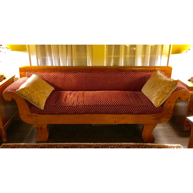 Mahogany 1850s Antique Empire Sofa For Sale - Image 7 of 7