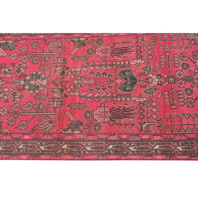 Vintage Malayer Wool Runner For Sale - Image 9 of 11