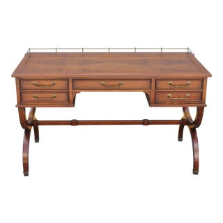 Mid-Century Modern Inlaid Desk For Sale