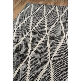 "Erin Gates by Momeni River Beacon Black Indoor Outdoor Hand Woven Area Rug - 5' X 7'6"" Preview"