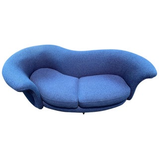 Thayer Coggin Curved Serpentine Sofa For Sale