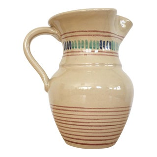 Vintage French Farmhouse Pitcher