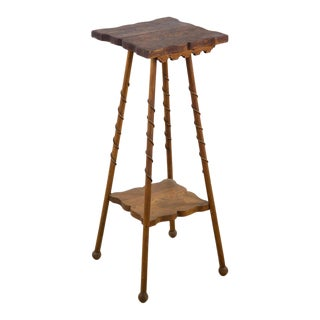 20th C. American Walnut Occasional Table For Sale