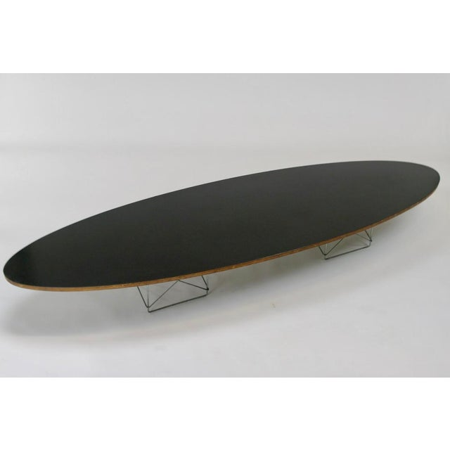 "Eames Elliptical ""Surfboard"" ETR Coffee Table - Image 4 of 11"