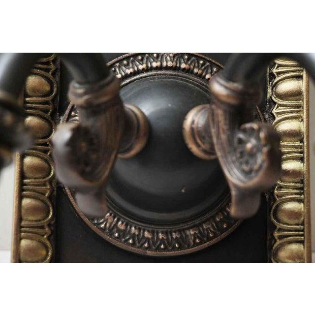 Metal 1920s Vintage Tudor Sconces - a Pair For Sale - Image 7 of 10