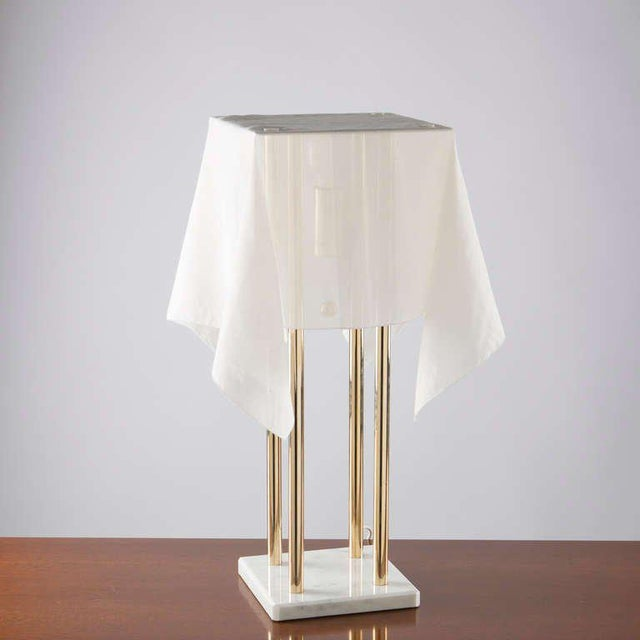"""Late 20th Century """"Nefer"""" Table Lamp by Kazuide Takahama for Sirrah For Sale - Image 5 of 10"""