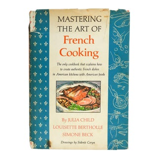 Mastering the Art of French Cooking Cookbook For Sale