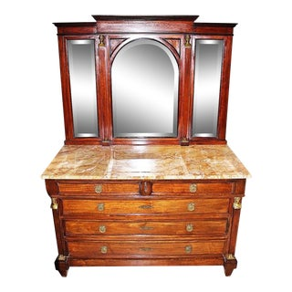 19th Century French Empire Dresser For Sale