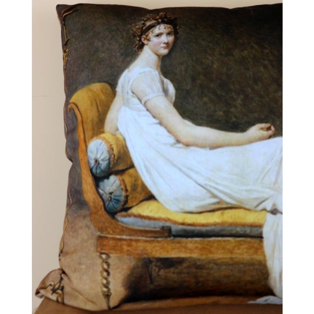 Paris Photo Pillow Juliette Recamier For Sale - Image 11 of 12