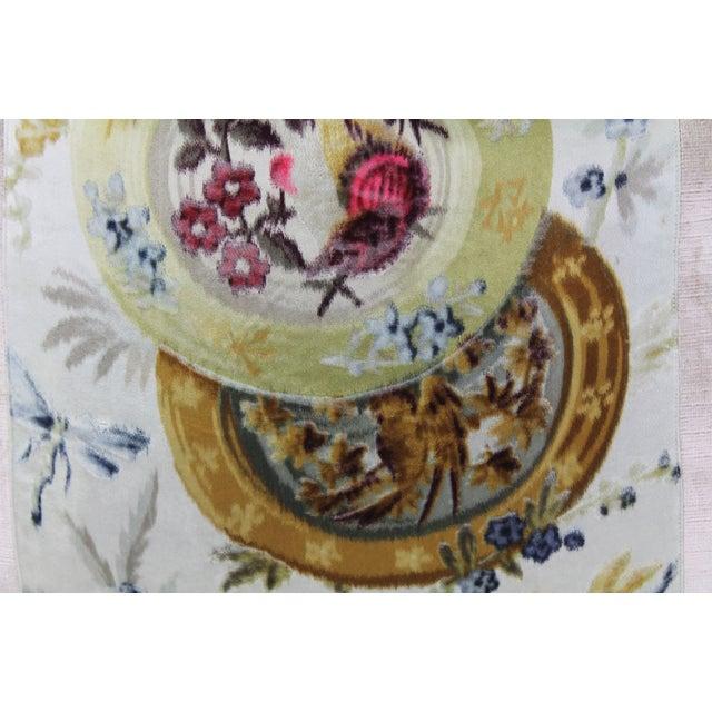 Vintage French Velvet Pillow - Image 3 of 4