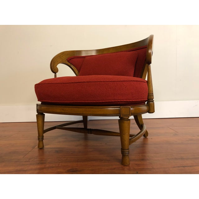 Tomlinson Sophisticate Vintage Occasional Chair For Sale - Image 12 of 13
