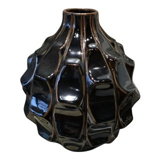 Global Views Brown Ceramic Vase