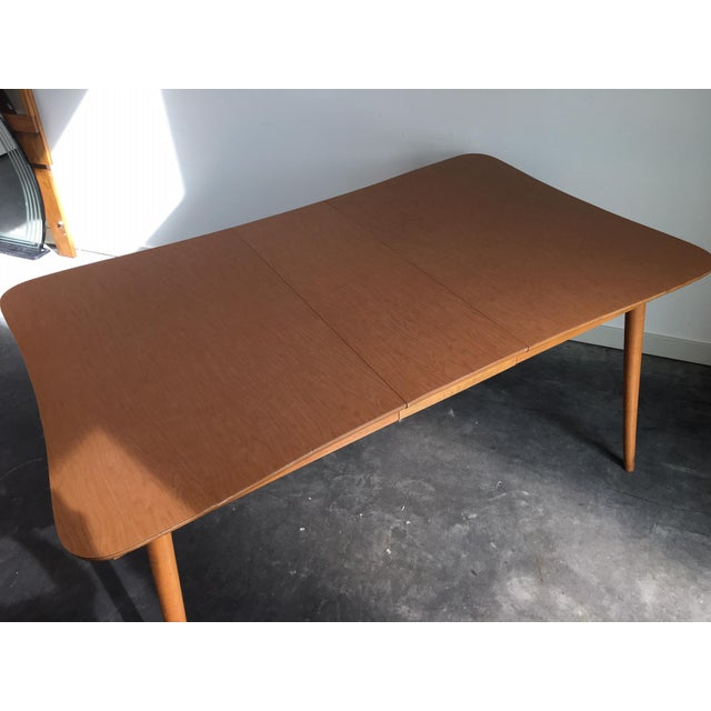 Green Vintage Mid Century Modern 7 Piece Dining Set For Sale - Image 8 of 11