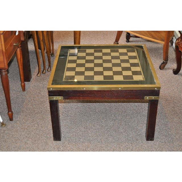 1950s Mid-Century Modern Game Table - Image 2 of 3
