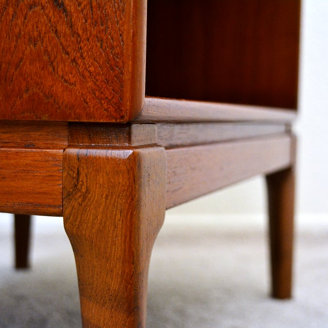 Brown Borge Mogensen Teak Nightstands for Soborg Mobler - a Pair For Sale - Image 8 of 12