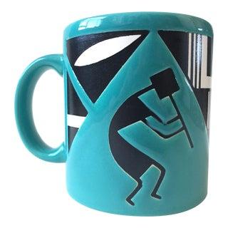 Vintage Waechtersbach Turquoise Mug