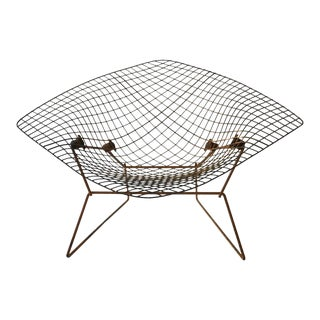 1960s Knoll Bertoia Wide Diamond Chair For Sale