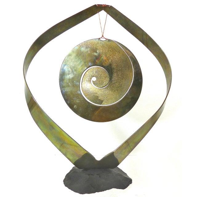Vintage Brass Kinetic Sculpture - Image 9 of 10