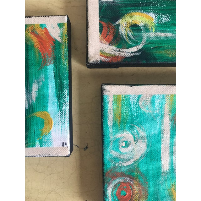 """Imbue"" No. 1, 2 & 3 Modern Series Paintings - Image 4 of 7"