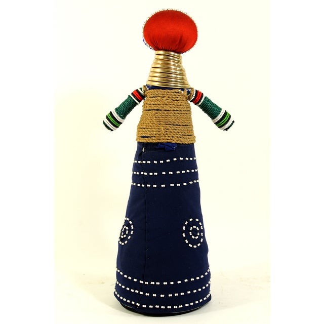 African Folk Art Ceremonial Doll - Image 4 of 6
