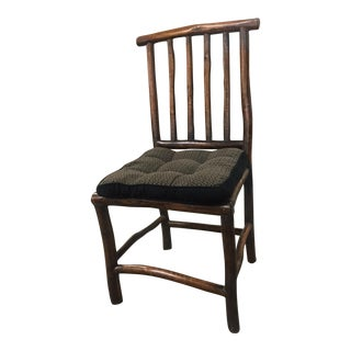 Asian Inspired Vintage Bamboo Chair For Sale