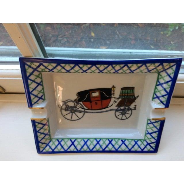 Hermes Old Fashioned Buggy Ashtray - Image 3 of 3