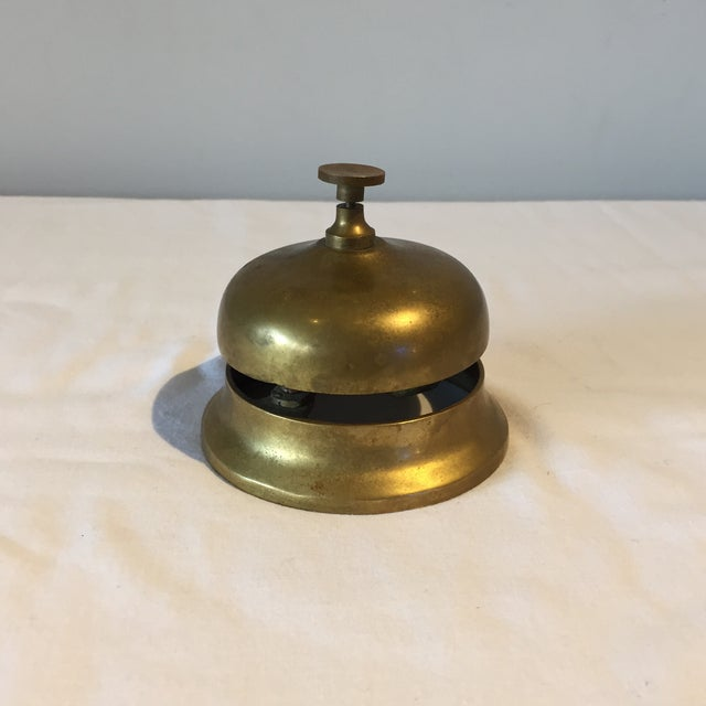 1950s Brass Hotel Reception Bell - Image 2 of 4