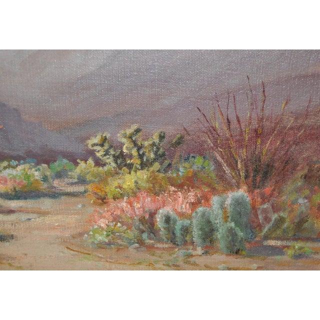 Arthur Best (1859-1935) American Desert Landscape C.1920s For Sale - Image 4 of 7