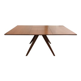 """New Copeland Furniture Catalina 48"""" Square Extension Table For Sale"""