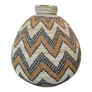 Early 1900s Ukamba South Africa Basket For Sale