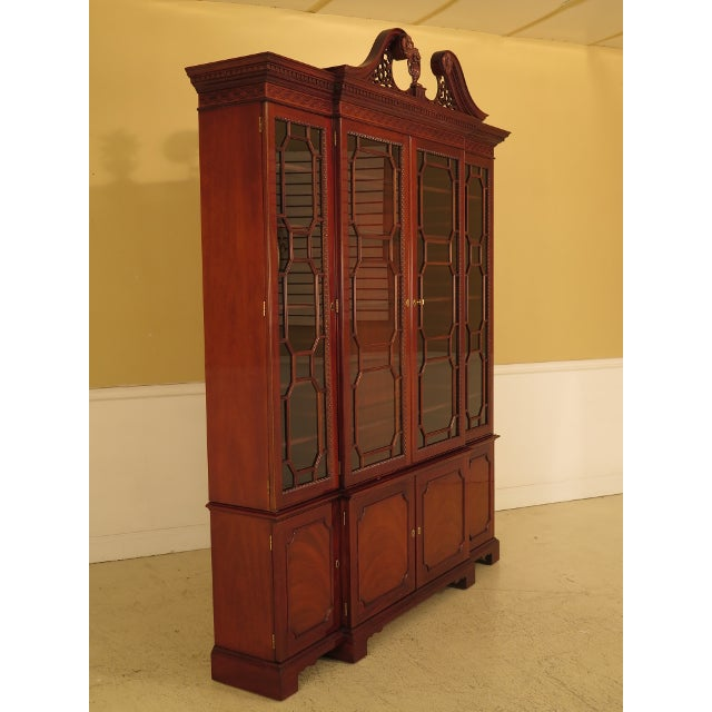 Kindel Four Door Mahogany Breakfront China Cabinet For Sale In Philadelphia - Image 6 of 13