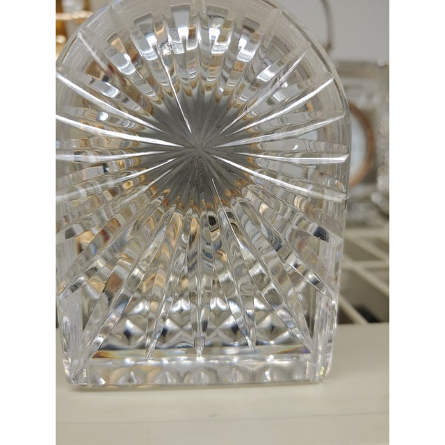 Petite size Waterford Clock will fit anywhere you need to add sparkle and elegance. Would add a nice touch to your vanity...