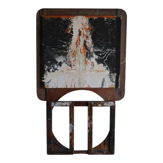 Andy Wing Untitled Mixed-Media Painting, 1965 For Sale