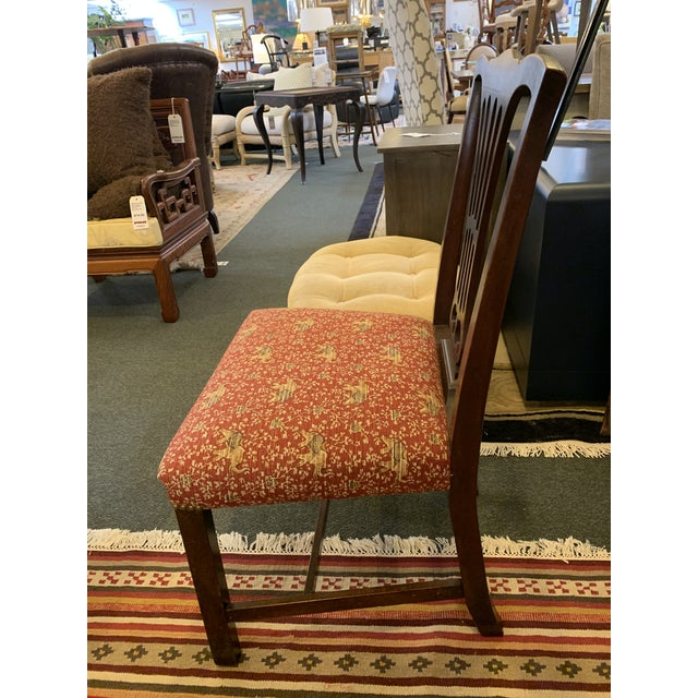 Vintage Chippendale Dining Chairs, Set of Eight For Sale - Image 9 of 12