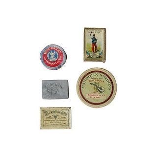 Vintage French Box Collection - Set of 5 For Sale
