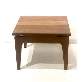 1950s Mid-Century Modern Solid Walnut Petite Cocktail or End Table Preview
