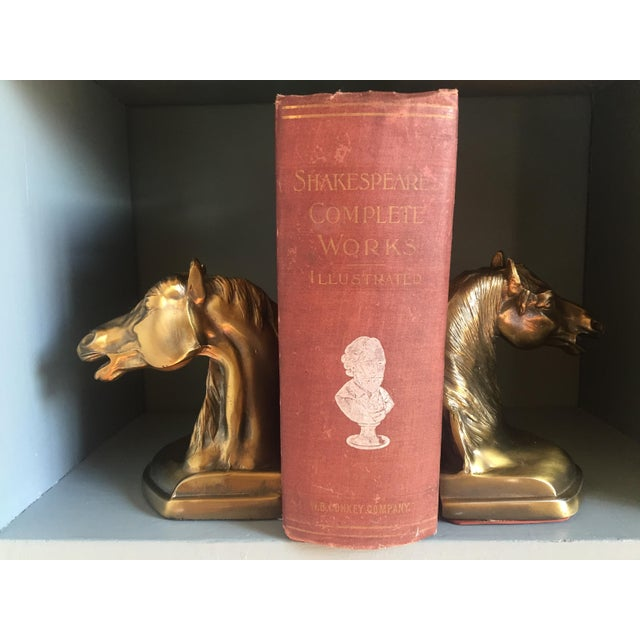 Brass Equestrian Bookends - A Pair - Image 3 of 5