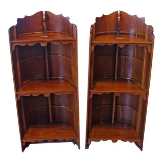 20th Century Traditional Mahogany Bookcases - a Pair For Sale