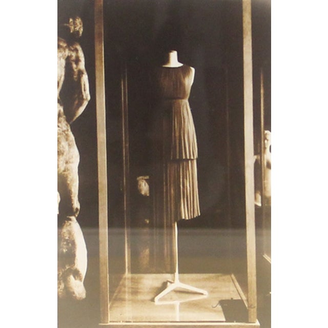 Framed Photograph, Madame Gres Exhibition in Paris - Image 2 of 2