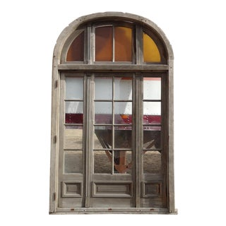 Antique French Arched Transom Doors For Sale