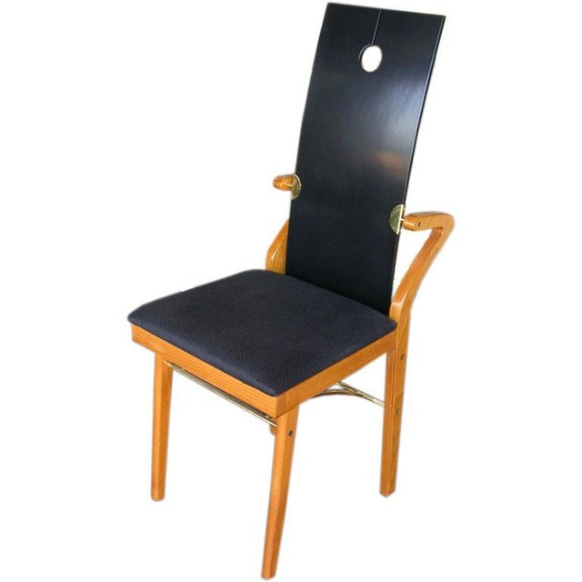 1980s 1980s Vintage Pierre Cardin Chair For Sale - Image 5 of 5
