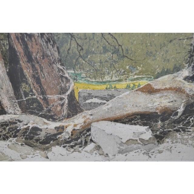 Yosemite Falls Etching by Luigi Kasimir - Image 8 of 10