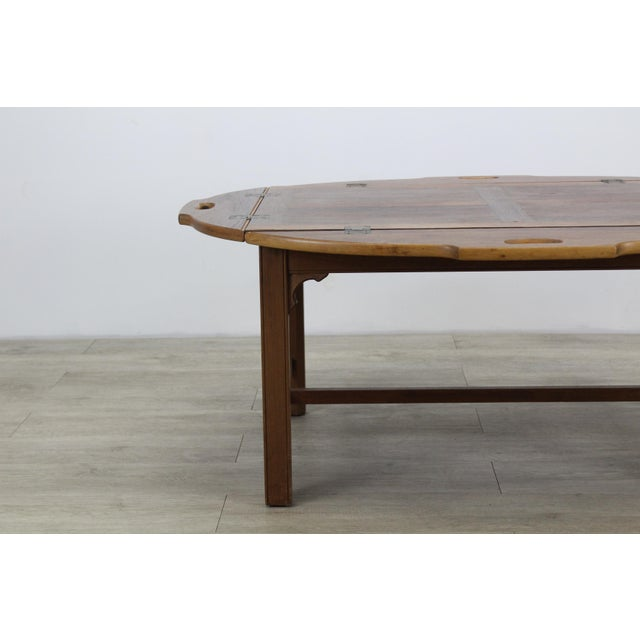 Mid-Century Modern Mid-Century Walnut Tray Table For Sale - Image 3 of 12