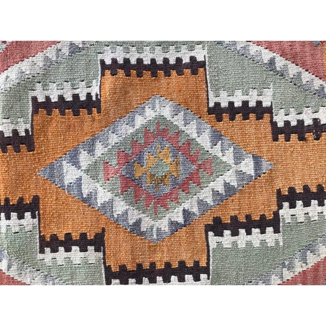 Textile 1930s Vintage Turkish Anatolian Kilim Rug For Sale - Image 7 of 12