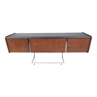 Vintage Office Credenza by Ste. Marie & Laurent For Sale