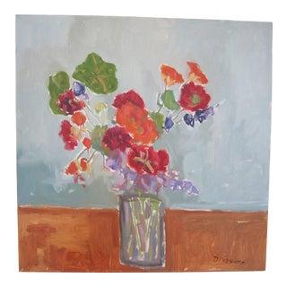 "Stephen Dinsmore ""Laurel's Bouquet"" Still Life Painting, 2010 For Sale"